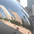 Chicago Cloud Gate - Stock Photo