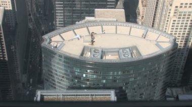 Skyscraper reflections — Stock Video