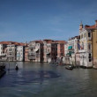 Stock Video: Boats on Canale Grande