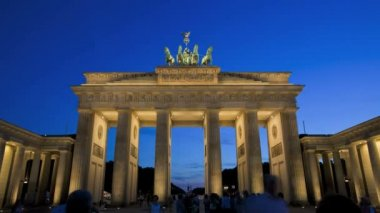 Brandenburg Gate — Stock Video