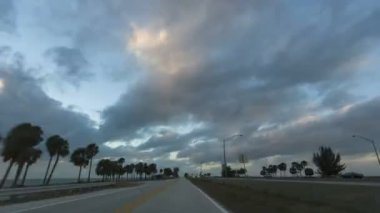 Skyway Bridge Timelapse — Stock Video