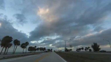 Skyway Bridge Timelapse — Stock Video