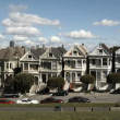 San Francisco Painted Ladies Timelapse — Vídeo de stock