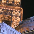 Stock Video: Eiffel Tower Las Vegas