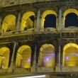 Stock Video: Colosseum at night