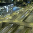 Stock Video: Seattle Nightime Interstate Traffic