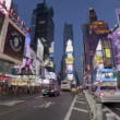 Times Square Sunset — Stock Video