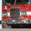 L.A. Fire Engine — Stockvideo