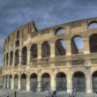 Colosseum Rome — Stok video