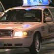 Stock Video: Taxis on Las Vegas Strip