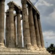 Temple of Olympian Zeus — Stock Video