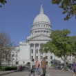 State Capitol Madison, Wisconsin — Stock Video