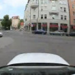 Timelapse Car journey - 图库照片