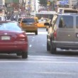 Timelapse Traffic on Broadway — Stock Video