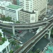 Timelapse Bangkok Traffic — Vídeo Stock