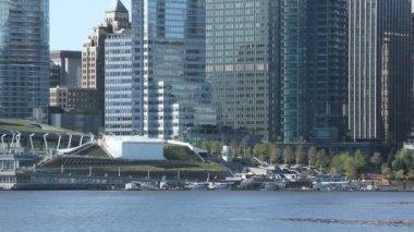 Vancouver Skyline — Stock Video