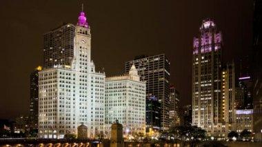 Chicago Michigan Ave — Stock Video