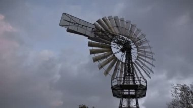 Historic windmill — Stock Video