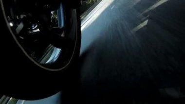 Motorcycle Wheel — Stock Video