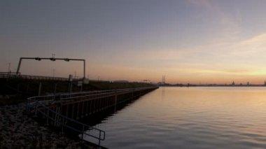 波罗的海日落 — 图库视频影像