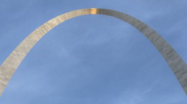 St. Louis Arch Sunset — Stok video