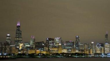 Skyline de chicago — Vídeo stock