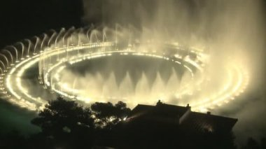 Bellagio Water Show — Stock Video