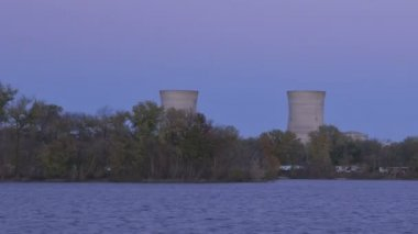 Three Mile Island, Pennsylvania — Stock Video