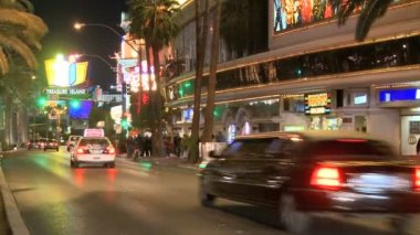 Las Vegas Strip Traffic — Stok video
