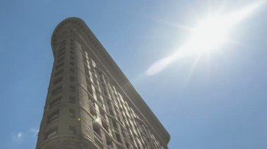 Timelapse Flatiron Building — Video Stock