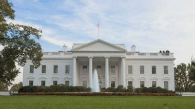 The White House timelapse — Stock Video