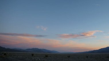 Death Valley Timelapse — Stock Video