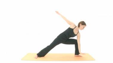 Yoga Asana — Stock Video