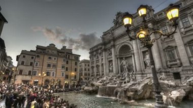 Fontana di Trevi — Stockvideo