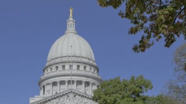 State Capitol Madison, Wisconsin — Vídeo stock