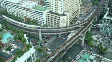 尕曼谷交通 — 图库视频影像