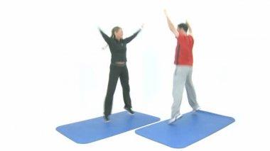 Sport exercise — Stock Video