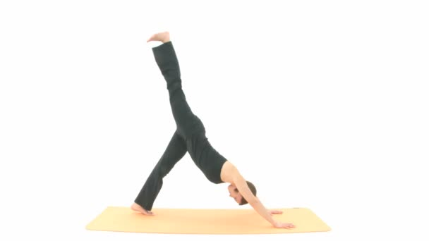 Asana yoga — Vídeo de stock