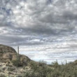 HDR Timelapse Javelina Rocks Saguaro NP Arizona - Photo