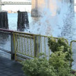 Water Wave at Brooklyn Bridge - Photo