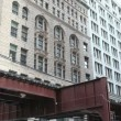 Stock Video: Elevated Train in Chicago