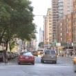 Timelapse Traffic on Broadway — Vídeo de stock