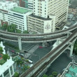 Timelapse Bangkok Traffic - Foto Stock