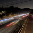 Highway Traffic at Night — Stockvideo