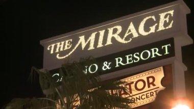 The Mirage Resort — Stock Video