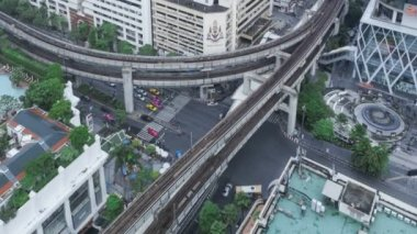Timelapse Bangkok Traffic — Stock Video