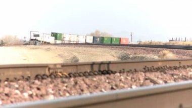 Cargo Train — Stock Video
