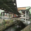Aerial Tramway Wuppertal — Stock Video