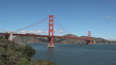 San Francisco Golden Gate Bridge timelapse — Stock Video #22605407