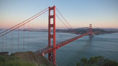 San Francisco Golden Gate Bridge — Stock Video #22611331